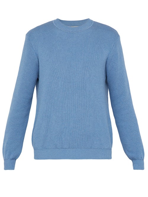 Éditions M.R Ischia Crew Neck Cotton Sweater OnceOff
