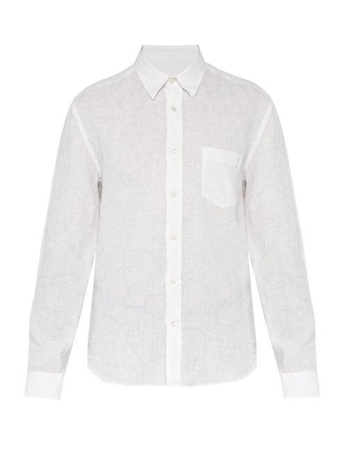 120% Lino Long Sleeve Linen Shirt OnceOff