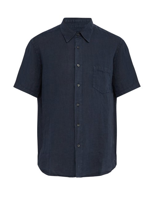 120% Lino Short Sleeved Linen Shirt OnceOff