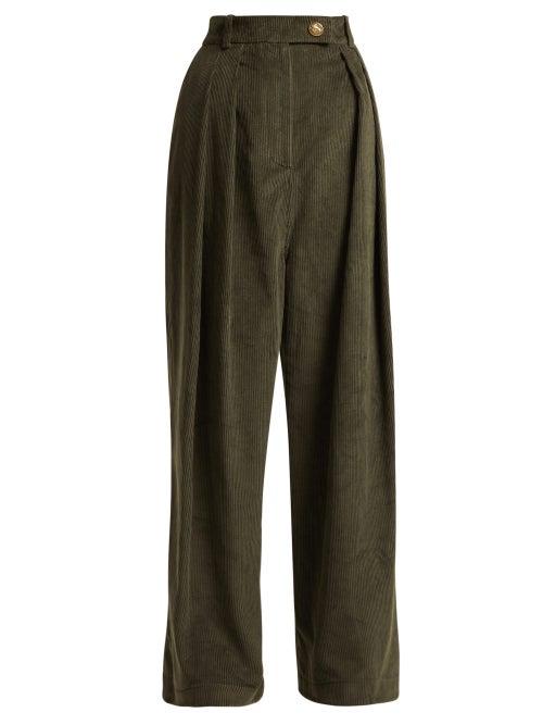 A.W.A.K.E. Mode Wide Leg Corduroy Trousers OnceOff