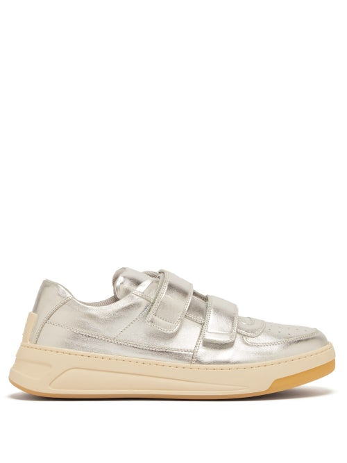 Acne Studios Perey Low Top Leather Trainers OnceOff