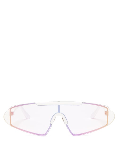Acne Studios Shield Acetate Sunglasses OnceOff