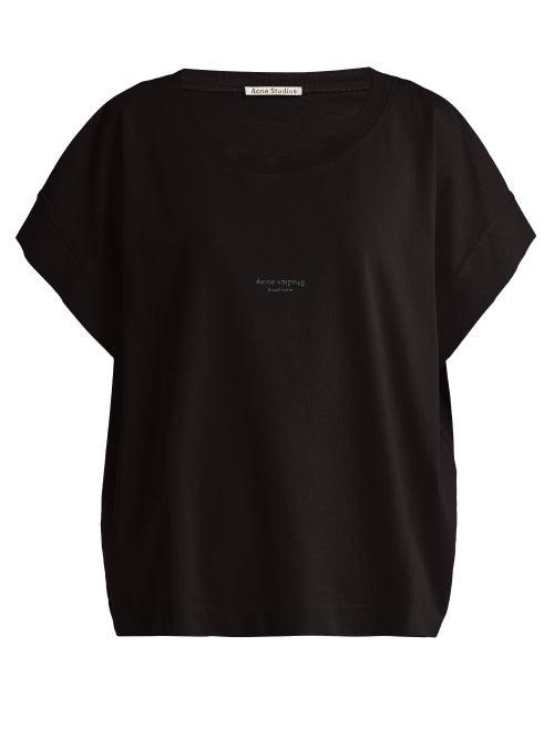 Acne Studios Tohnek Boat Neck Cotton T Shirt OnceOff
