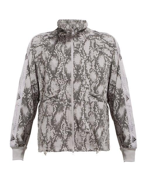 Adidas By Stella Mccartney Snake Print Performance Jacket OnceOff