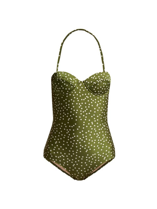 Adriana Degreas Mille Punti Bandeau Swimsuit OnceOff