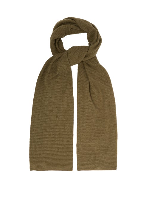 Allude Knitted Cashmere Scarf OnceOff