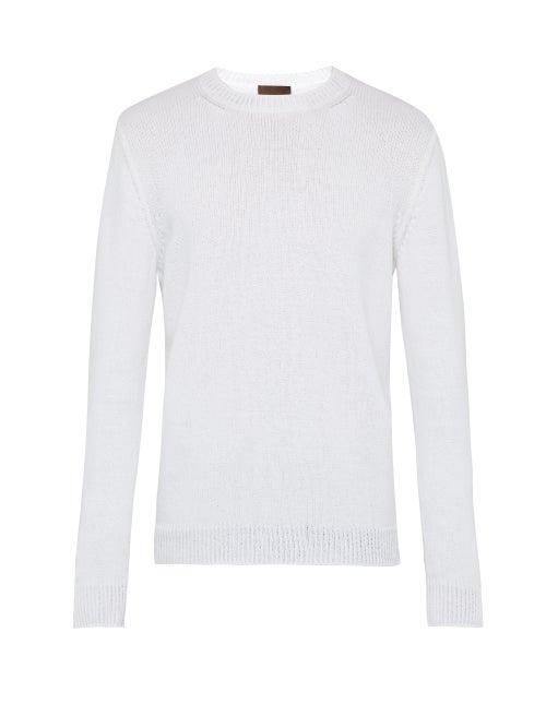 Altea Crew Neck Cotton Blend Sweater OnceOff