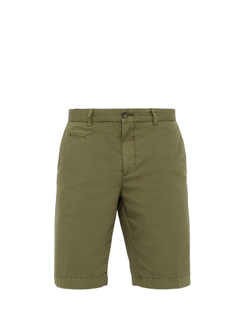 Altea Straight Leg Cotton Blend Shorts OnceOff