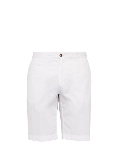 Altea Stretch Cotton Poplin Bermuda Shorts OnceOff