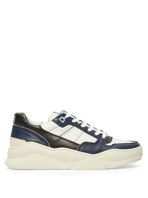 Ami Basket Leather Low Top Trainers OnceOff
