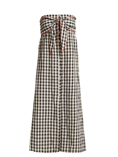 Anaak Gingham Patterned Cotton Dress OnceOff