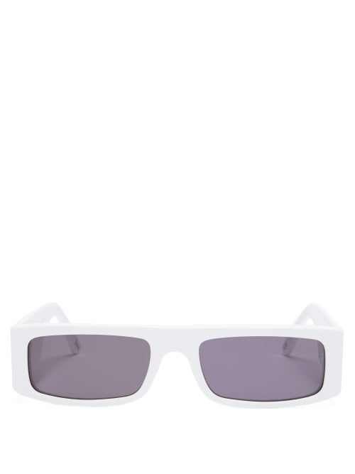 Andy Wolf Hume Rectangular Acetate Sunglasses OnceOff