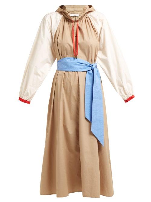 Apiece Apart Donostia Belted Cotton Dress OnceOff