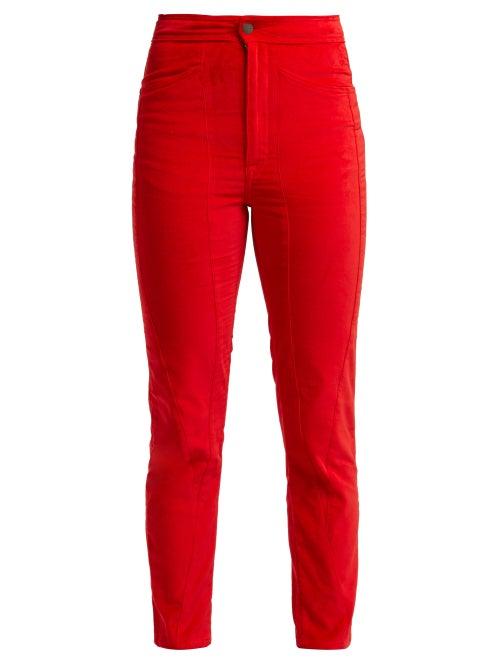 Aries Velvet Trousers OnceOff
