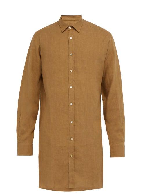 Arjé The Tobias Longline Linen Shirt OnceOff