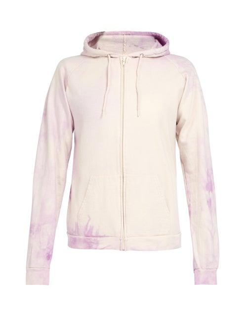 Audrey Louise Reynolds Tie Dye Hooded Cotton Sweatshirt OnceOff