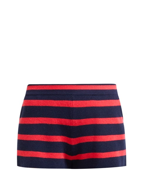 Barrie Summer Vibration Striped Cashmere Shorts OnceOff