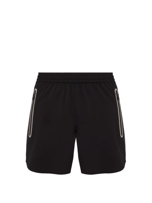 Blackbarrett By Neil Barrett Zip Pocket Track Shorts OnceOff