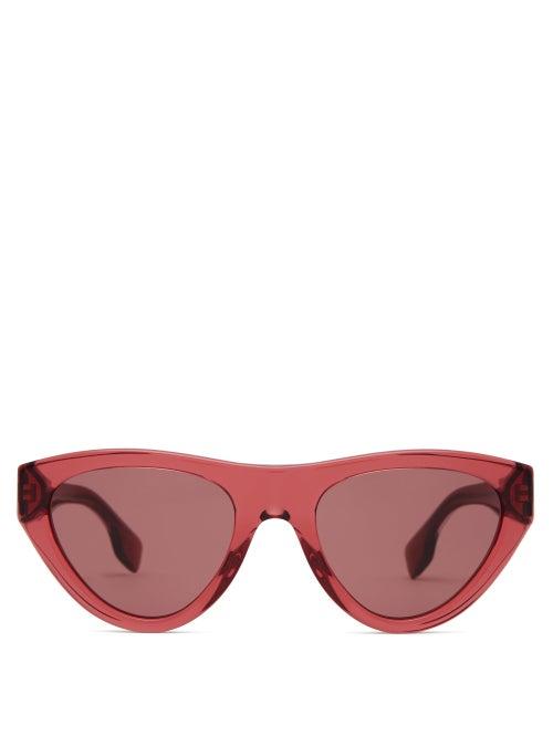 Burberry Cat Eye Acetate Sunglasses OnceOff