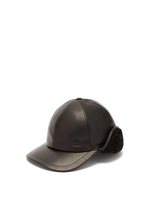 Burberry Explorer Leather Cap OnceOff