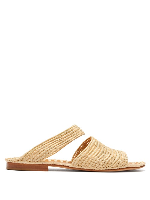 Carrie Forbes Ahmed Raffia Sandals OnceOff