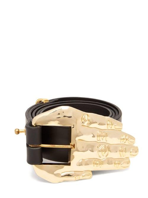 Charles Jeffrey Loverboy Hand Buckle Leather Belt OnceOff
