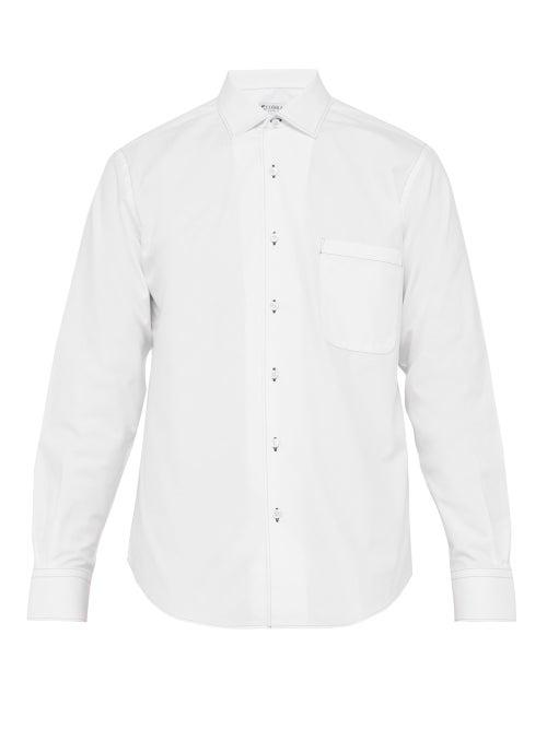 Cobra S.C. Contrast Stitch Cotton Poplin Shirt OnceOff