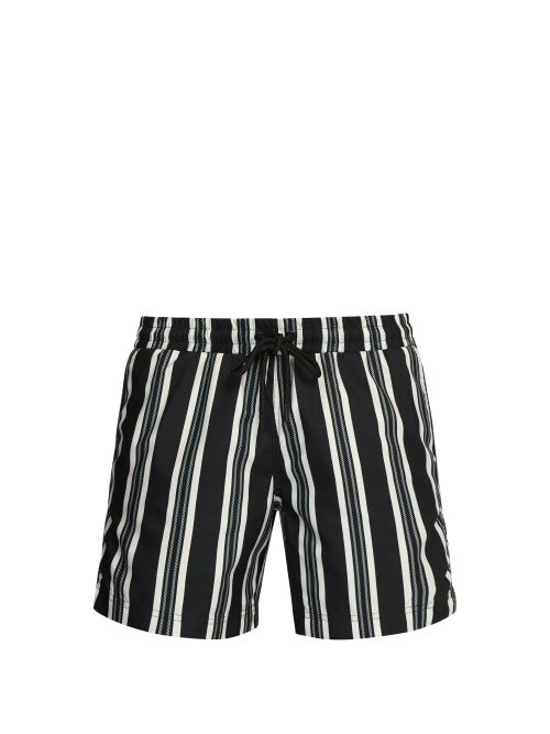 Commas Striped Rope Print Swim Shorts OnceOff