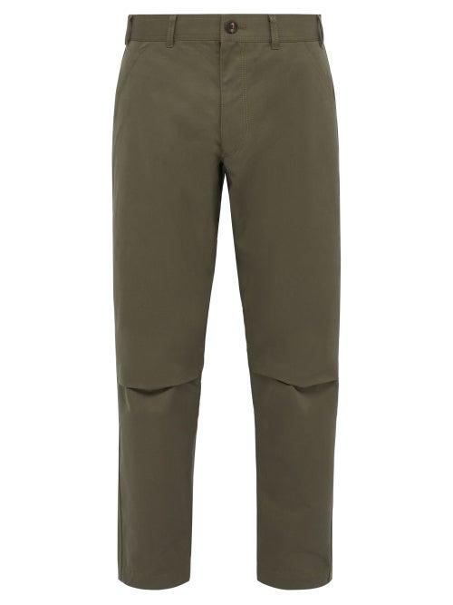 Comme Des Garçons Shirt Tapered Cotton Trousers OnceOff