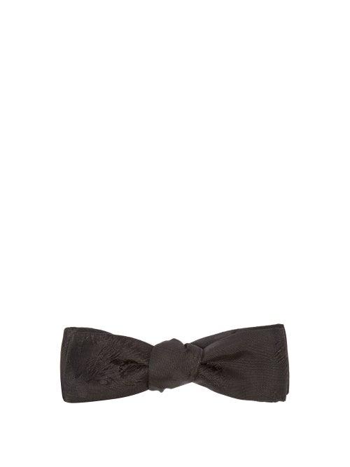 Comme Les Loups Venturi Floral Silk Jacquard Bow Tie OnceOff