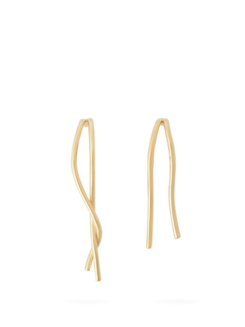 Completedworks Rift & Surge Mismatched Gold Vermeil Earrings OnceOff