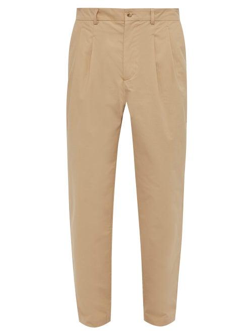 De Bonne Facture Brushed Cotton Carrot Fit Trousers OnceOff