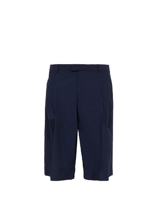 Deveaux Nylon Pleated Shorts OnceOff