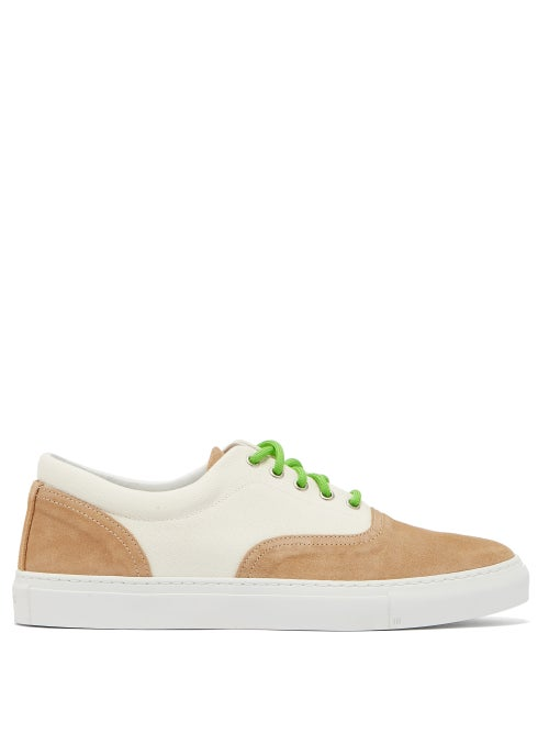 Diemme Iseo Suede And Canvas Trainers OnceOff
