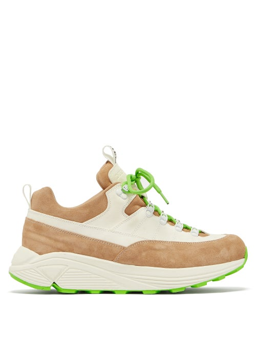 Diemme Monte Raised Sole Suede Trainers OnceOff