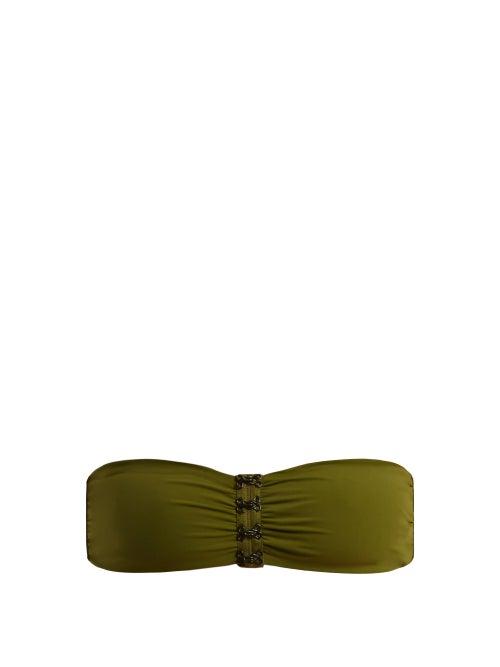 Dos Gardenias Hooker Bandeau Bikini Top OnceOff