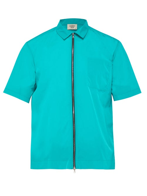 Everest Isles Zip Up Beach Shirt OnceOff