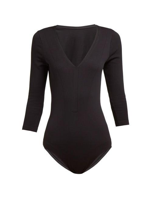 Falke Dream Ribbed Crop Sleeve Bodysuit OnceOff