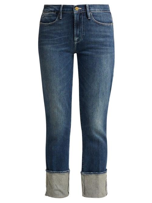 Frame Le High Straight Leg Jeans OnceOff