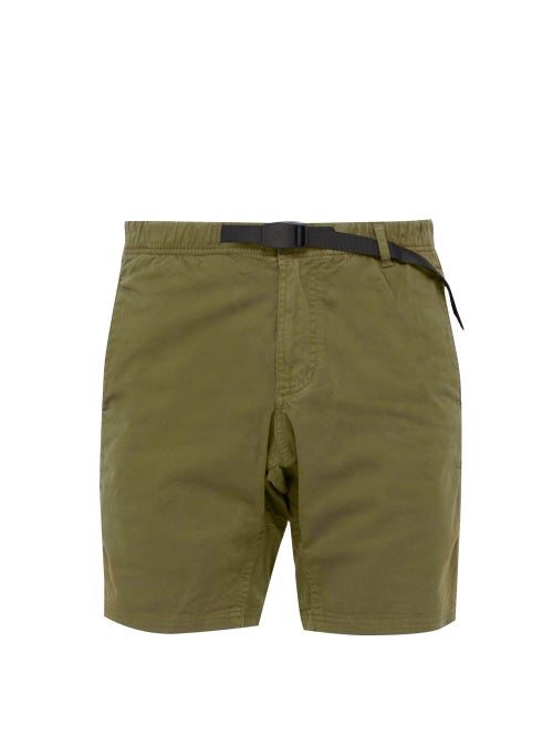 Gramicci Belted Stretch Cotton Twill Shorts OnceOff