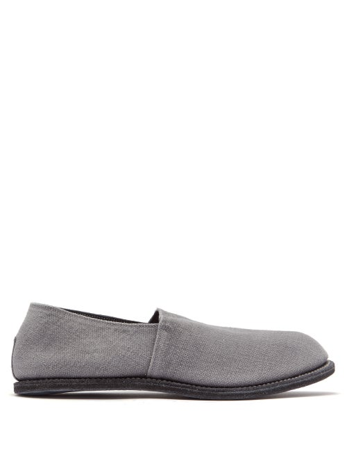 Guidi Linen Loafers OnceOff