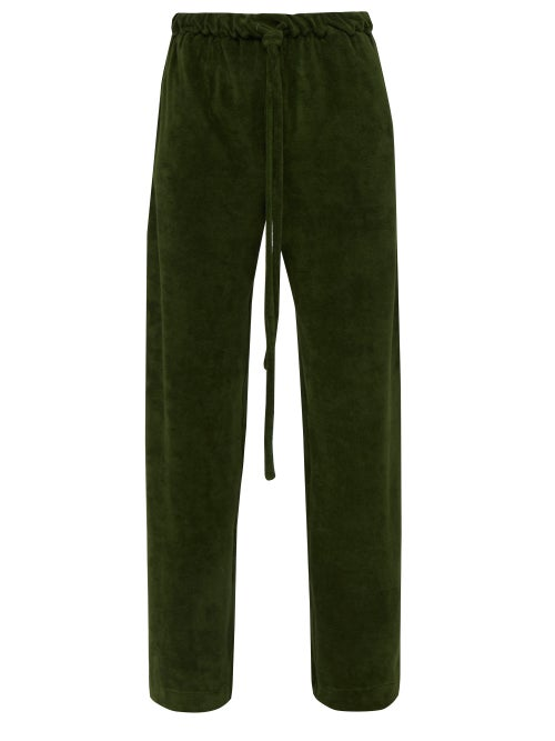 Hecho Cotton Blend Terry Trousers OnceOff
