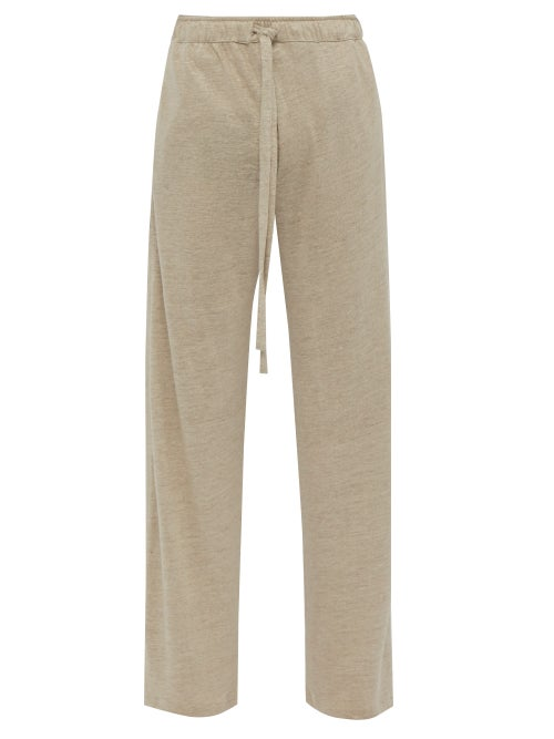 Hecho Relaxed Linen Jersey Trousers OnceOff