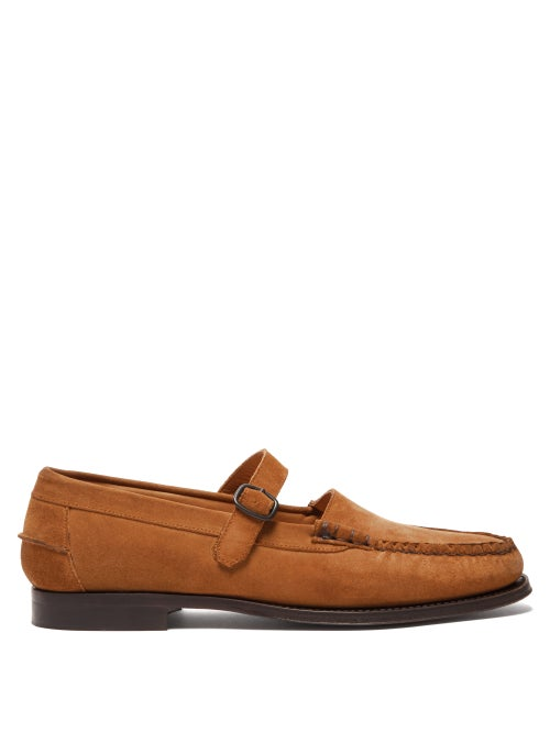 Hereu Single Strap Suede Loafers OnceOff