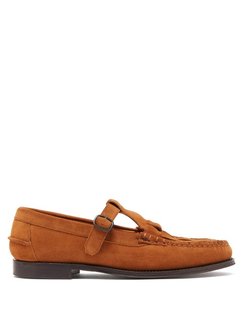 Hereu Woven Suede Loafers OnceOff