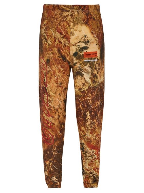 Heron Preston Ctnmb Camouflage Print Track Pants OnceOff