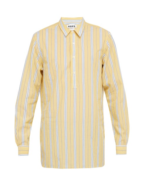 Hope Striped Cotton Shirt OnceOff