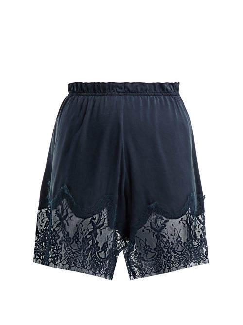 Icons Waterlily Silk Shorts OnceOff