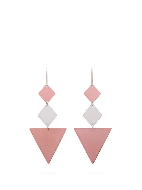 Isabel Marant Triangle Drop Earrings OnceOff