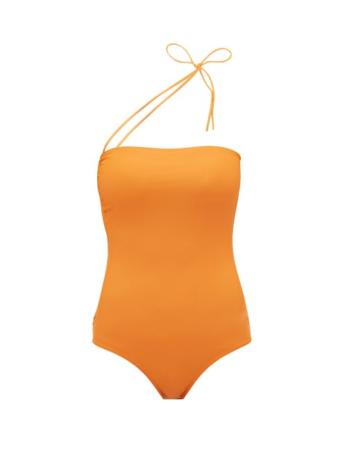 Jacquemus Alassio One Shoulder Swimsuit OnceOff